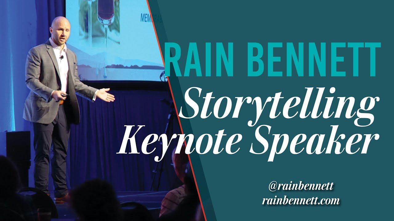 Rain Bennett | Speaker Reel
