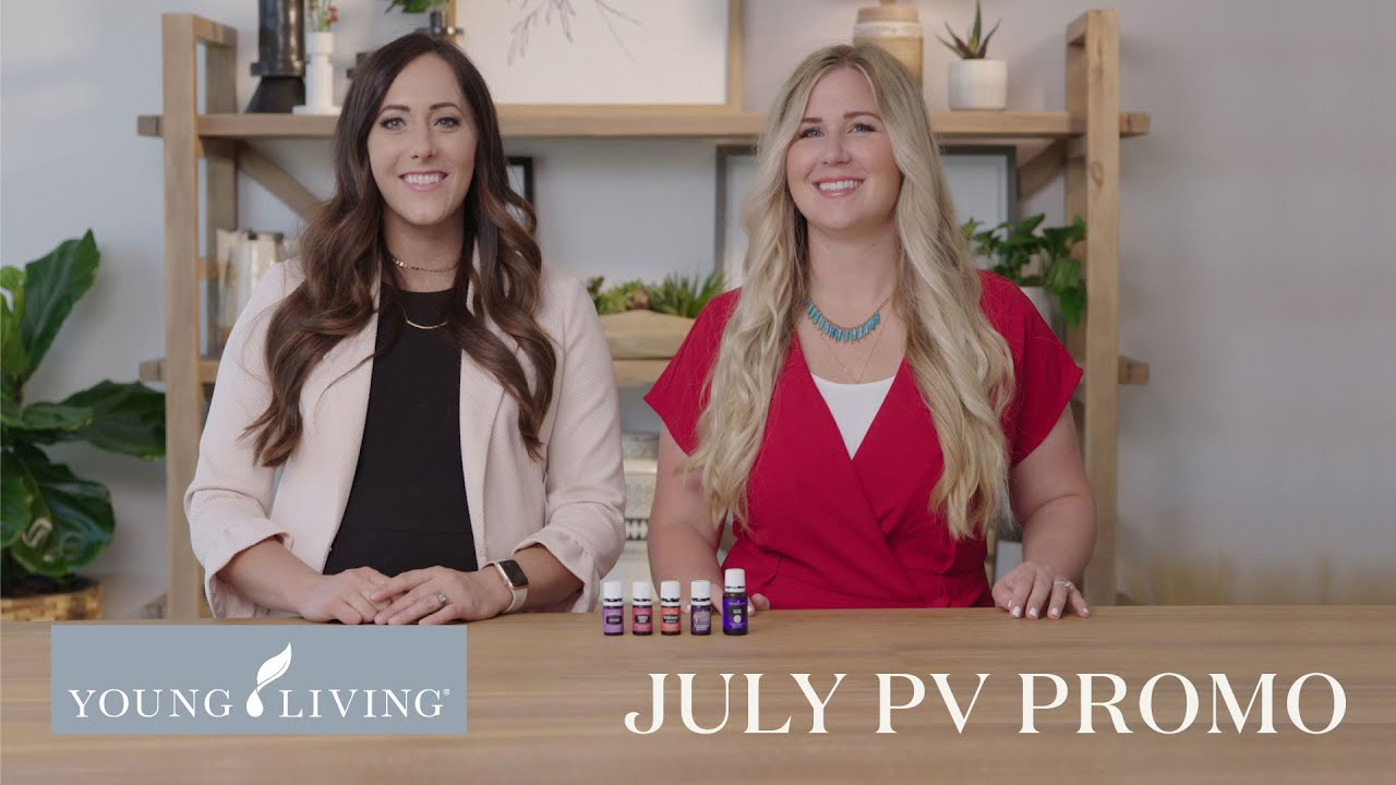 July PV Promo | Young Living Essential Oils