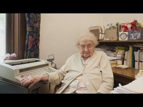 99-Year-Old School Secretary Celebrates 80 Years Working With No Plans to Retire