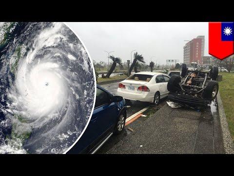 Super Typhoon Nepartak sweeps through Taiwan, ends storm-free streak in western Pacific - TomoNews
