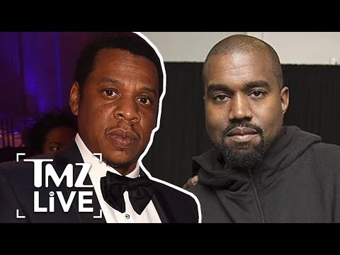 Jay-Z and Kanye West Will Meet Face-To-Face To End Feud | TMZ Live