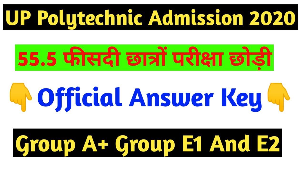 #polytechnic entrance exam 2020 answer key Group A #answer key 2020 polytechnic entrance Exam