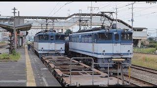 【EF210/EF65】高崎線 倉賀野 貨物列車 ⑬ 入換・着発【DE10】