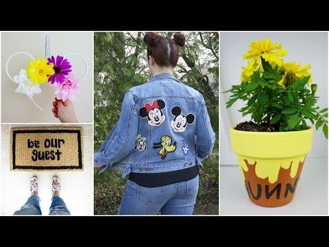 CHEAP & EASY DISNEY DIY CRAFTS #7 | PINTEREST INSPIRED