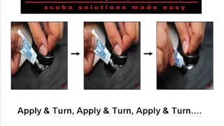 scuba fix llp bcd repair video