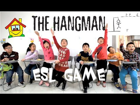 THE HANGMAN GAME - ESL Game - ESL Teaching Tips  - Mike's Home ESL