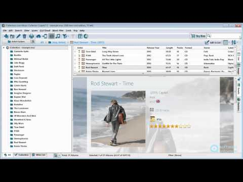 Music Collector video tutorial