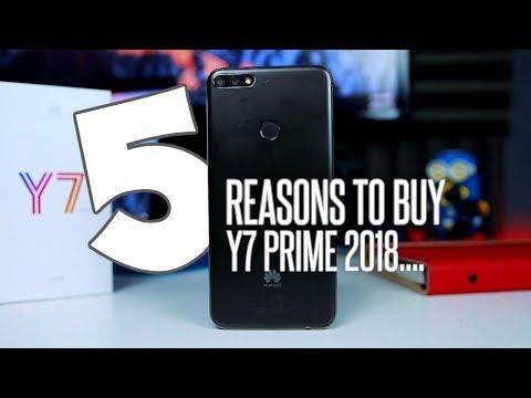 افضل 5 مميزات يخلوك تشترى Huawei Y7 Prime 2018 🖐🏼