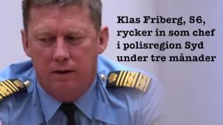 Han ska leda Skånepolisen