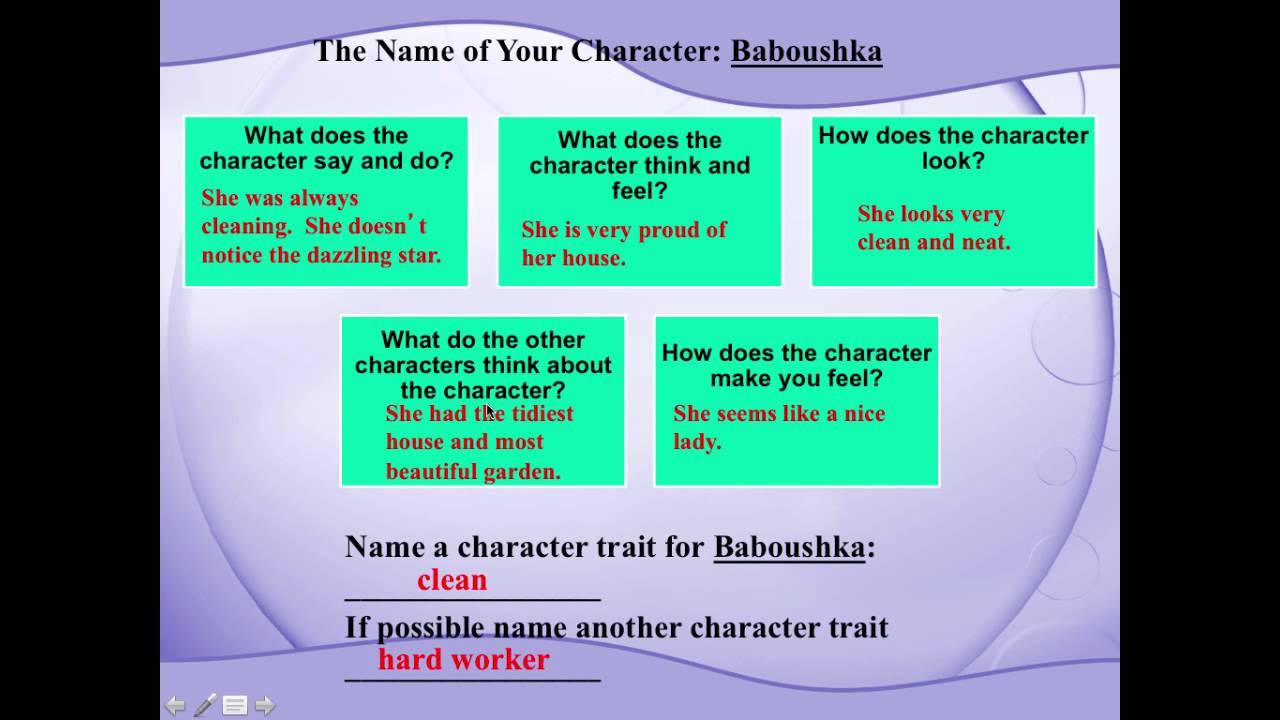 medium resolution of Character Traits - YouTube