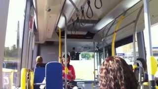 Volvo hybrid bus