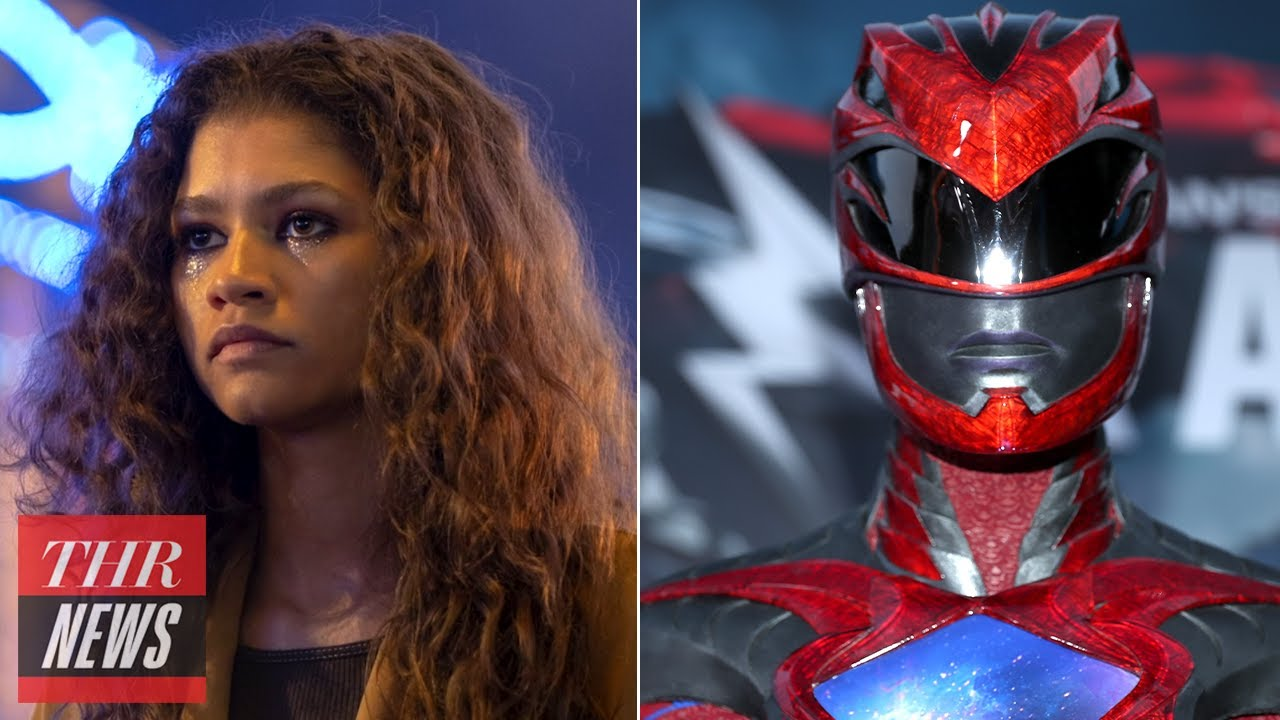 Zendaya Confirms Euphoria Special, Power Rangers Are Back, Jamie Foxx is Hunting Vampires | THR News