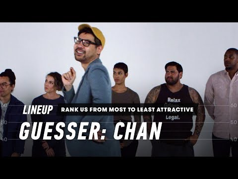 Rank a Group of Strangers from Most to Least Attractive (Chan) | Lineup | Cut