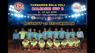 Gambar cover Ngunut vs Sidowayah | Turnamen Bola Voli Baleasri Cup 2 thn 2019