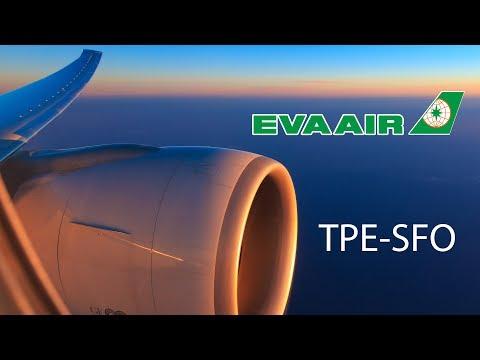 [4K] Flight Report EVA Air Royal Laurel Class Taipei - San Francisco BR28 長榮航空
