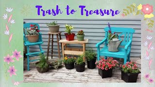 Repurposed Trash & Junk ; Trash to Treasure ; DIY Ideas