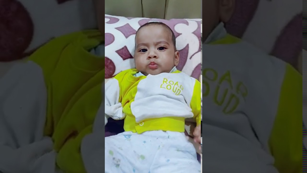 My Younger kid Vayu is completing 5 months !!! See Roll Over , Laugh out loud and little Sitting !!!