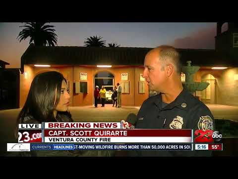 Thomas Fire: Conditions not improving