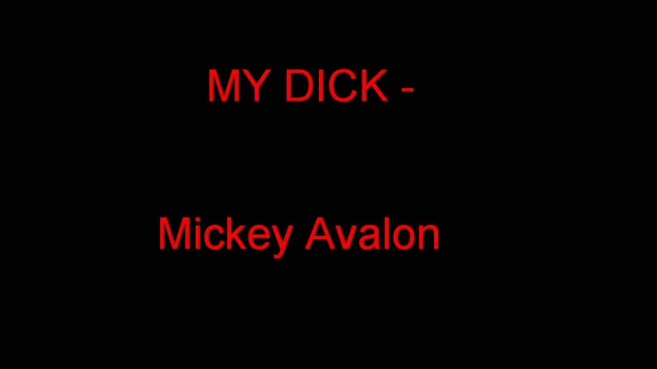 Apologise, but, mickey avalong my dick can not