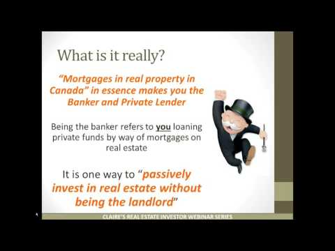 Real Estate Investors   Self Directed RRSP s, what, why and how