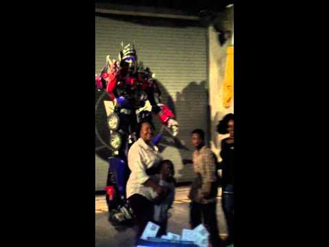 Optimus Prime at Universal Studios