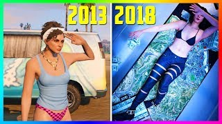 GTA Online In 2013 VS 2018! - Comparing GTA Online Over The Years - Which Is More Fun & Enjoyable?