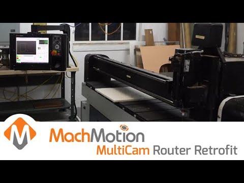 MULTICAM CNC ROUTER CONTROL RETROFIT