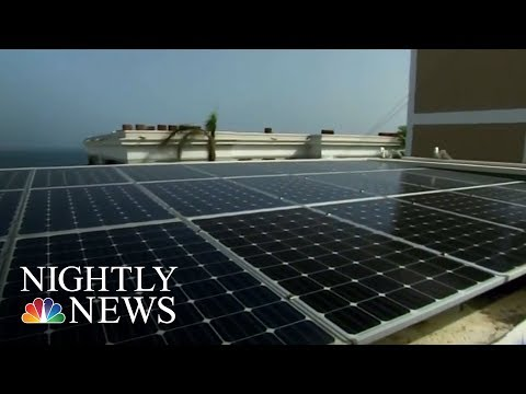 Almost 80 Percent Of Puerto Rico Still Without Power   NBC Nightly News
