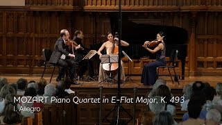 MOZART Piano Quartet in E-flat major, K.493 (mvt I) - ChamberFest Cleveland