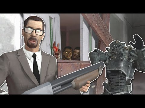 ZOMBIE SURVIVAL IN CREEPY HOSPITAL? - Garrys Mod Gameplay - Gmod Zombie Survival