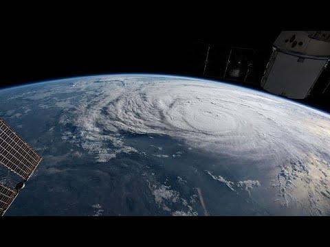 Hurricane Harvey hits US mainland