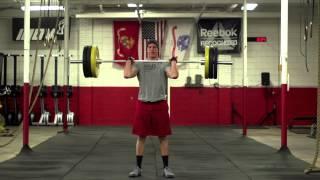 Clean and Jerk Lift Technique - Super Slow Motion