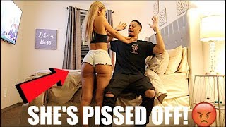 Let's SLEEP W/ Other People Prank On Girlfriend!