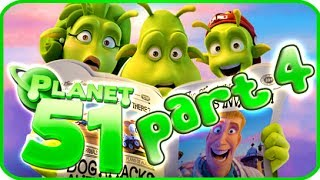 Planet 51 Walkthrough Part 4 (PS3, Xbox 360, Wii) - Movie Game