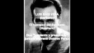 Luis Sagi Vela - El huesped del Sevillano - Insolente y presumido