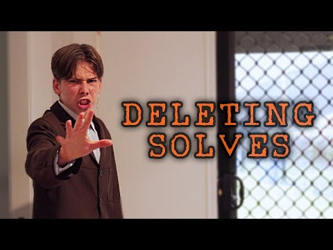 Deleting Solves... | Cubing Skit