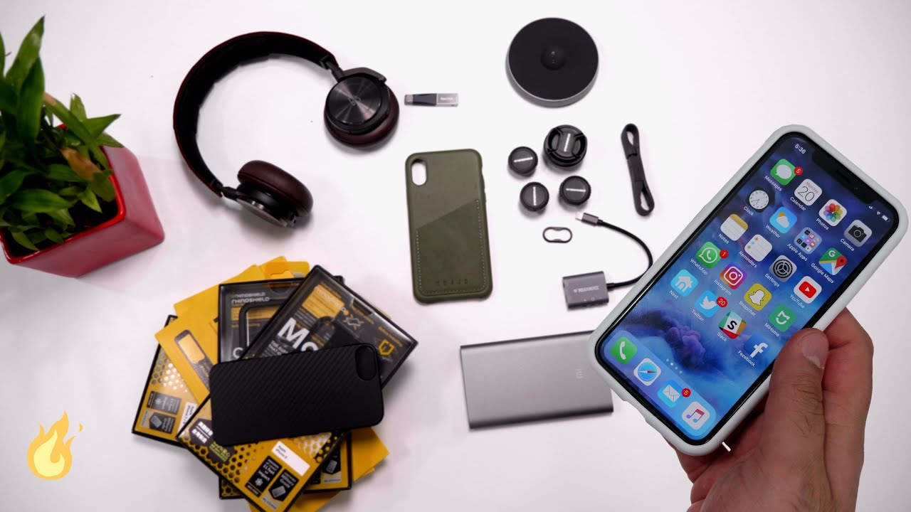 the latest 40f8d 5136f Top Accessories for the Apple iPhone X