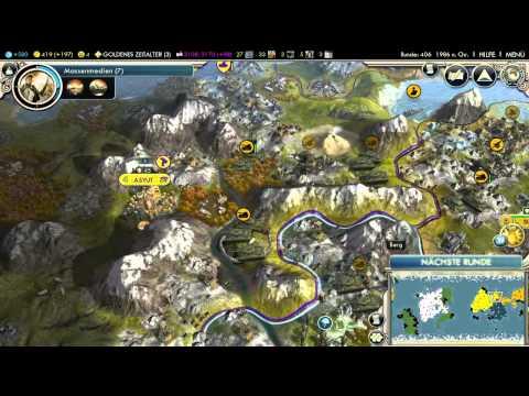 Let's Play Civilization 5 HD Part 69 - einfach nicht einnehmbar  