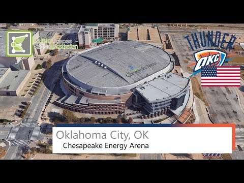 Oklahoma City, OK - Chesapeake Energy Arena / 2015