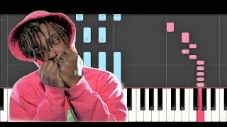 Juice Wrld Wasted Piano Tutorial How to play - Cover.mp3