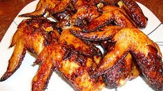 Recipe for Grilled Chicken Wings