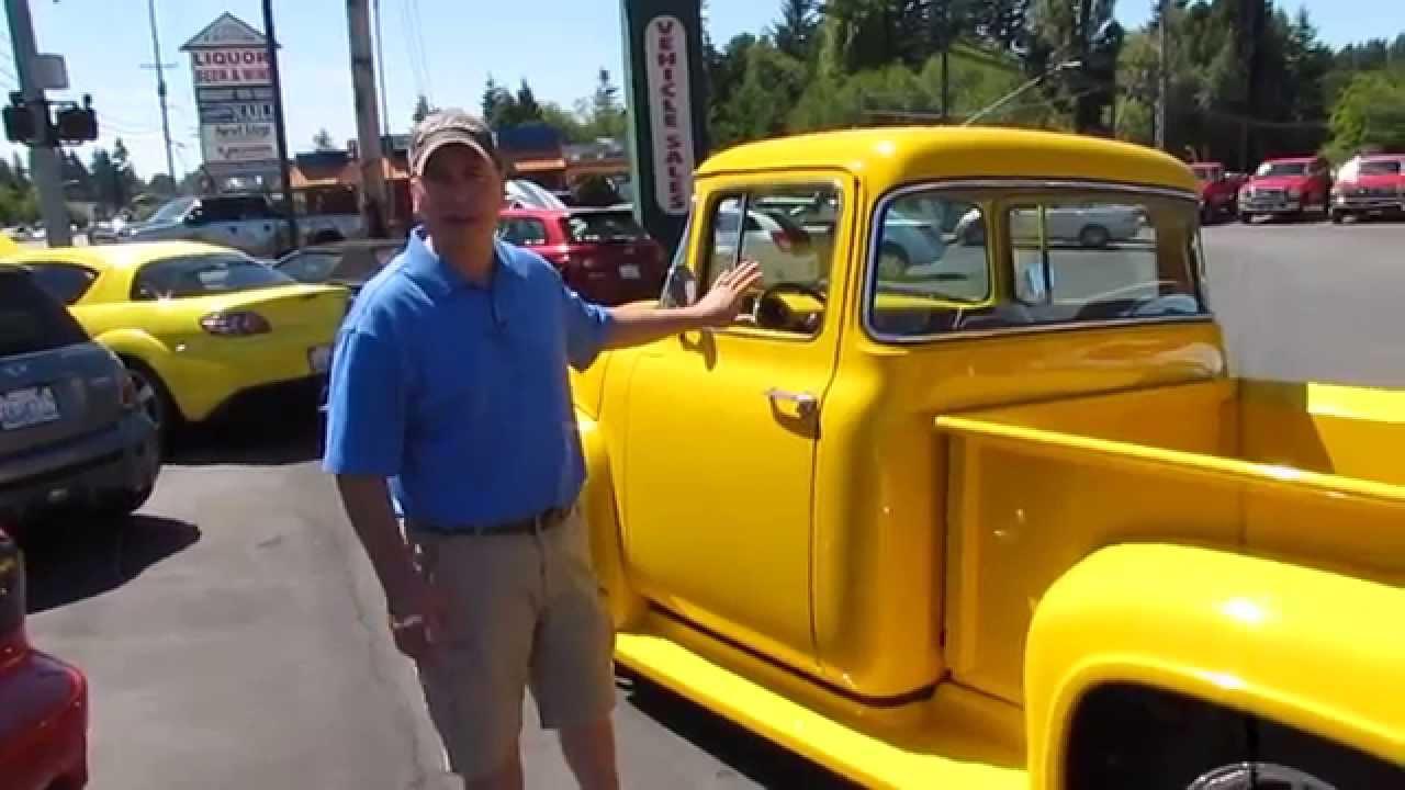 1955 Ford Big Back Window