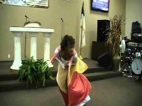 "Prophetic Dance Ministry of SaKatherine Johnson ""Thank You"" by Benita Washington Pt. 1"