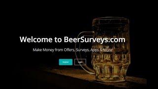 BeerSurveys.com Review - Make Money from Offers, Surveys, Apps & More