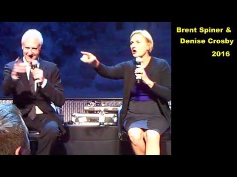 Brent Spiner & Denise Crosby 2016