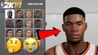 NBA 2K19 I FINALLY GOT MY FACE SCAN TO WORK