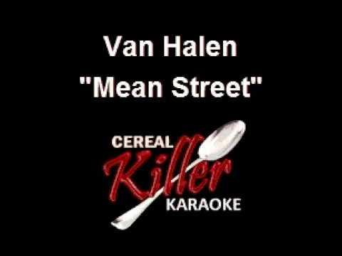 CKK - Van Halen - Mean Street (Karaoke)