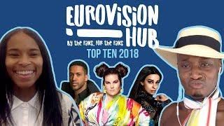 Eurovision Song Contest 2018 Top 10 | Reaction Video