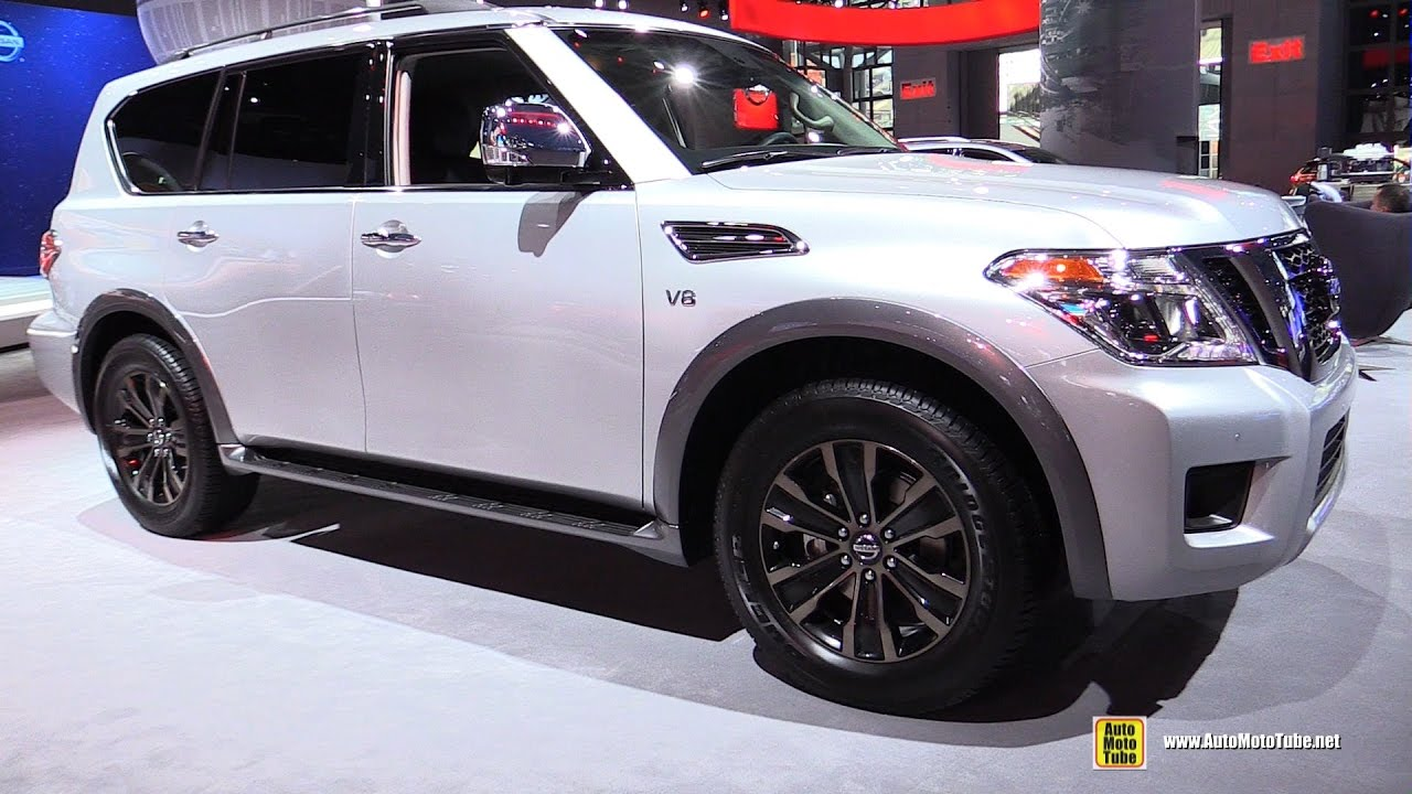 2017 Nissan Armada Platinum Exterior And Interior Walkaround New York Auto Show