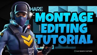[TUTORIAL] How To Edit Montages On Sharefactory 2019 PS4 (Sharefactory montage Tutorial)   Asterias